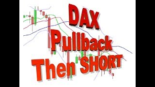 DAX Today 30 May, small pullback, then short again