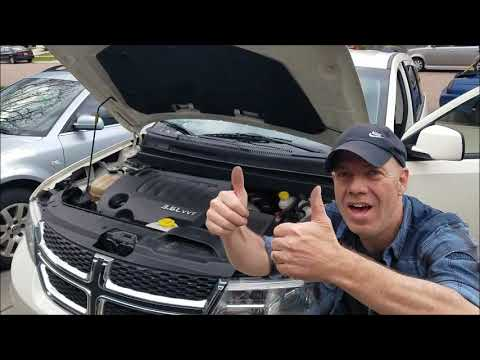 2008 2017 Dodge Journey Spark Plugs Replacement Full Job