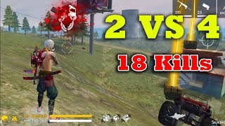 2 vs 4/Duo Vs Squad | Free Fire Attacking Squad Ranked GamePlay Tamil | Win All Ranked Match