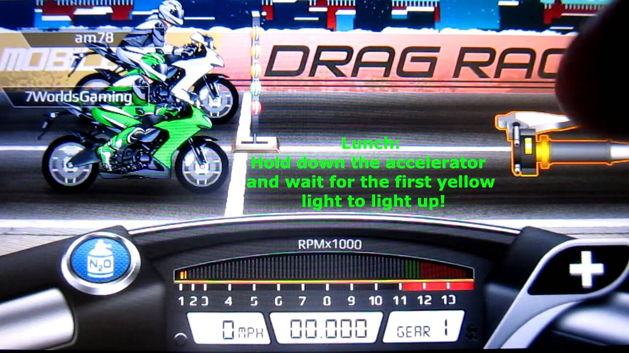 Tune Drag Racing Bike Edition