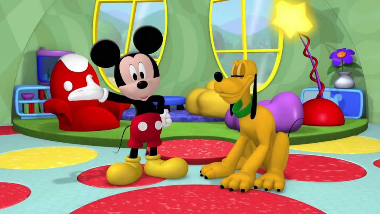 La Maison De Mickey Le Salon De Minnie Premieres Minutes Exclusivite Disney Junior Youtube