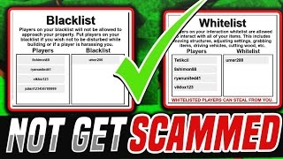 How to NOT Get Scammed in Lumber Tycoon 2!! | Roblox