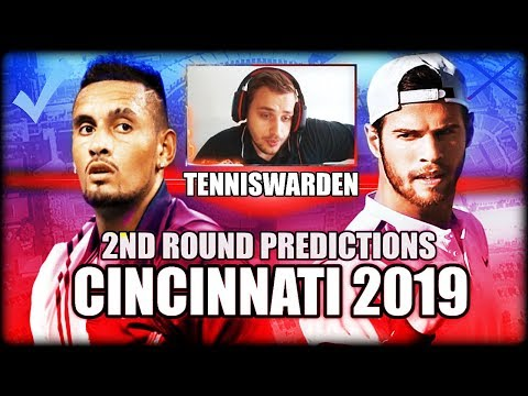 ATP Masters - Cincinnati 2019 - 2nd Round Predictions