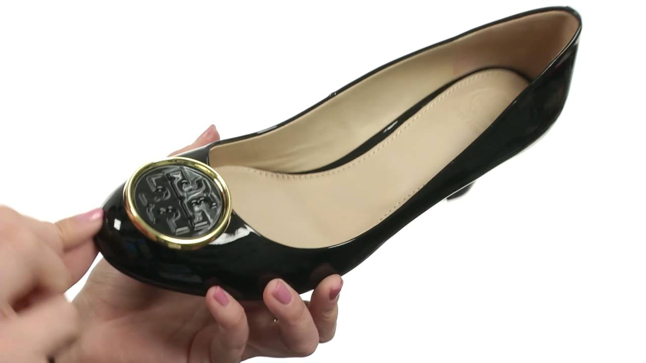 889745180397 Tory Burch Twiggie 65mm Wedge SKU 8814120 - YouTube