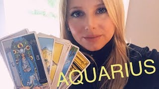 Aquarius End of June 2018 *HOLY MOLY* Powerful - what goes around comes around BIG TIME