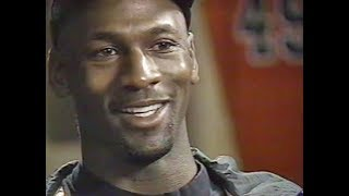 Michael Jordan - extended chat [ESPN] re NBA comeback & more (1995)