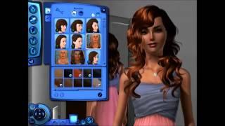 The Sims 3-создание персонажа-Келли Хартли