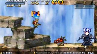Metal Slug 7 Walkthrough - Mission 4