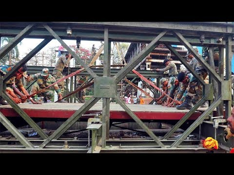 Elphinstone stampede: Indian Army completes construction of three foot over-bridges