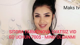 Daxshat Sitora Farmonova Uyatsiz Video
