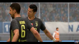 Serie A Round 26 | Game Highlights | Napoli VS Juventus | 1st Half | FIFA 19