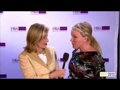 Cardinal Health's Meghan Fitzgerald on the HBA Red Carpet