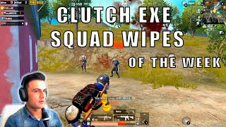 CLUCTH EXE - SQUAD WIPES - SNIPER SHOT - INTENSE GAMEPLAY OF THE WEEK - PUBG MOBILE PAKISTAN