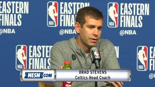 Brad Stevens Game 7 Celtics vs. Cavaliers Pregame Press Conference