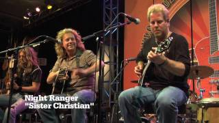 "Night Ranger ""Sister Christian"" - NAMM 2010 with Taylor Guitars"