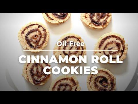 VEGAN CINNAMON ROLL COOKIES – OILFREE | Vegan Richa Recipes