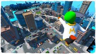 Me convierto en Spiderman lejos de casa en el mejor mapa del mundo de plastilina de Minecraft