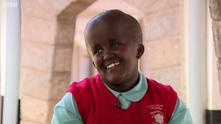 """""""Accept yourself just as you are"""": Angel, the young singer from Kenya - BBC What's New?"""