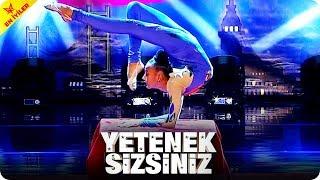 Lastik Kız Sena Sarı  Yetenek Sizsiniz Türkiye