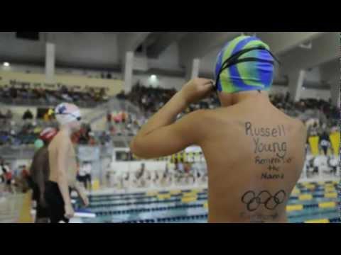 Russell Young~Lane 2 @ 2012 Gwinnett County Swim C...