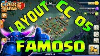 CLASH OF CLANS LAYOUT FAMOSO CC 5 - CASA DO CONSTRUTOR NIVEL 05