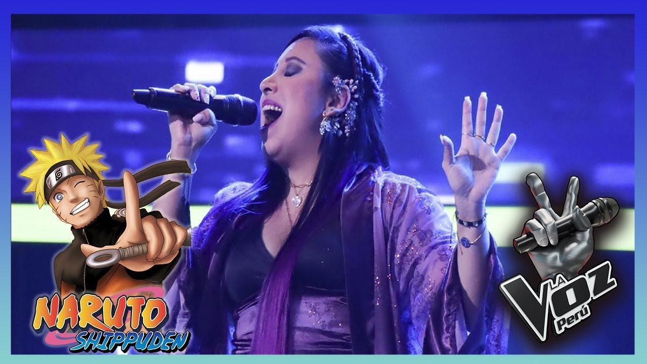 Naruto Shippuden ( Blue bird ) en la Voz Perú 2021 /Audiciones a Ciegas (Berioska)