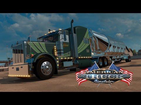 American Truck Simulator - Peterbilt 379 Hoffman Transportation