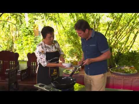 Explore TV Thailand – Thai Cooking Lesson  – Krabi Cookery School