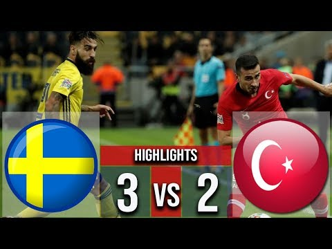 Sweden vs Turkey 2-3 Goals & Highlights Nations Leagus 2018