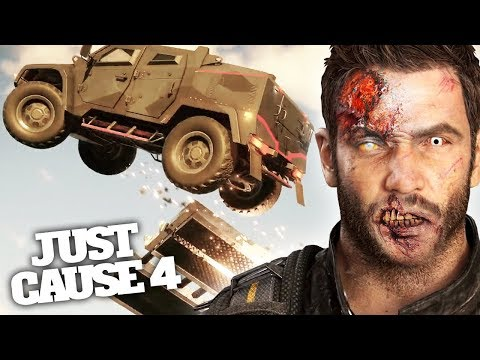 JUST CAUSE 4 STUNT & MONSTERS *ZOMBIE* DLC!? |