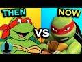 TMNT - Then VS. Now - Evolution of Teenage Mutant Ninja Turtles (Tooned Up S4 E17)