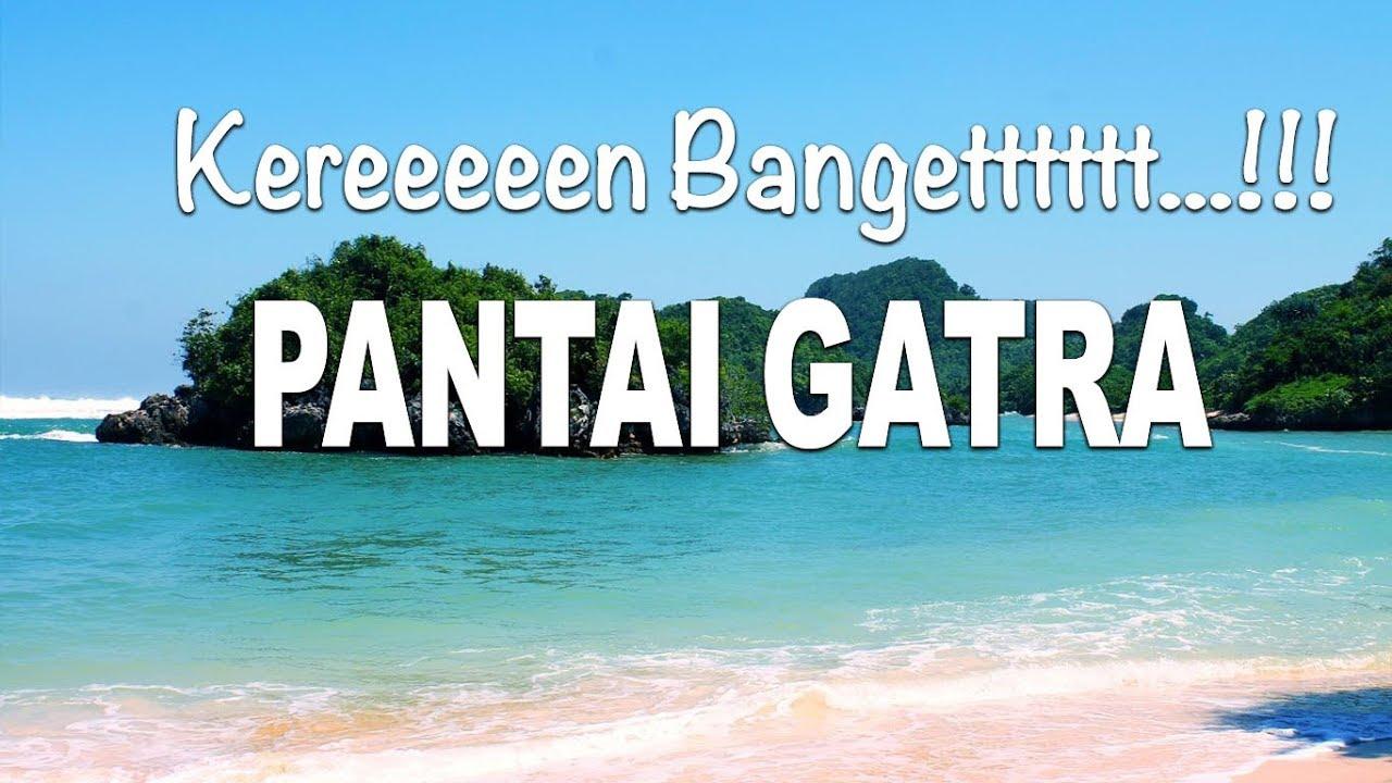 Pantai Gatra Malang Kereennn Buangett