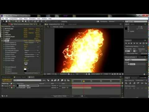 After Effects CG Fire Series | Particular Fire Tutorial | By RCVFXTutorials