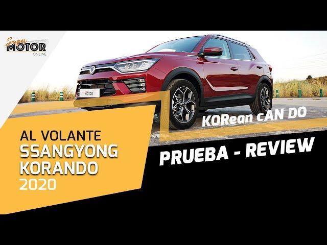 Al volante del SsangYong Korando 2020 / SuperMotor.Online / T5 - E20
