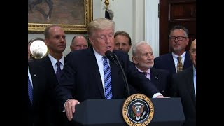 Trump Signs Order Reviving Nat'l Space Council