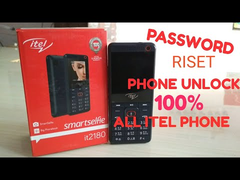 HARD RISET ITEL it2180 - SOLVE PASSWORD LOCK & SOFTWARE