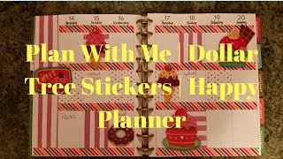 Gambar cover Plan With Me | Dollar Tree Stickers | Happy Planner