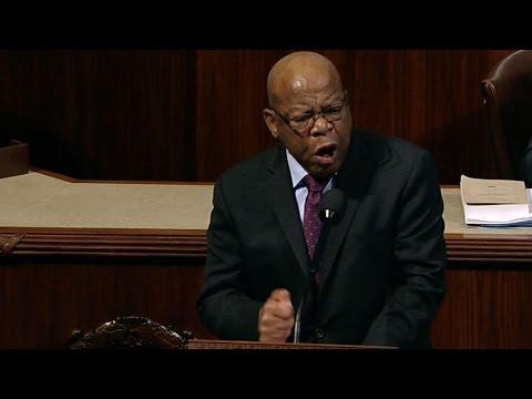 Rep. John Lewis' passionate speech against GOP bill