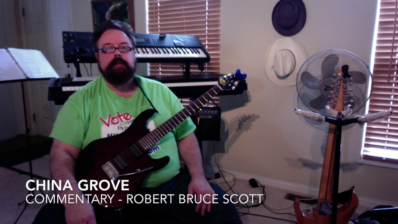 China grove by the doobie brothers guitar lesson by robert bruce china grove by the doobie brothers guitar lesson by robert bruce scott hexwebz Gallery