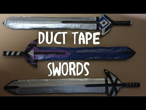 Ultimate Cardboard and Duct Tape Sword