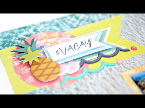 Sun-Kissed Embellishments | Creative Memories Australia