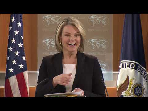 Department Press Briefing - January 18, 2018