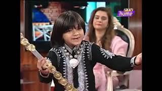 Arif Lohar Sons First Ever Performance on TV