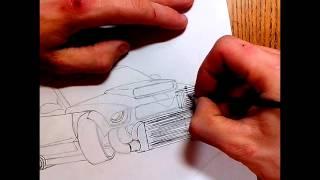 рисунки авто