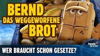 Lebensmittel-Verschwendung: Die Groko setzt auf Freiwilligkeit | heute-show vom 01.03.2019