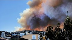 Chile: Fire ravages homes in port city of Valparaiso