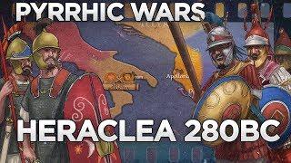 Battle of Heraclea 280 BC - Pyrrhic Wars DOCUMENTARY