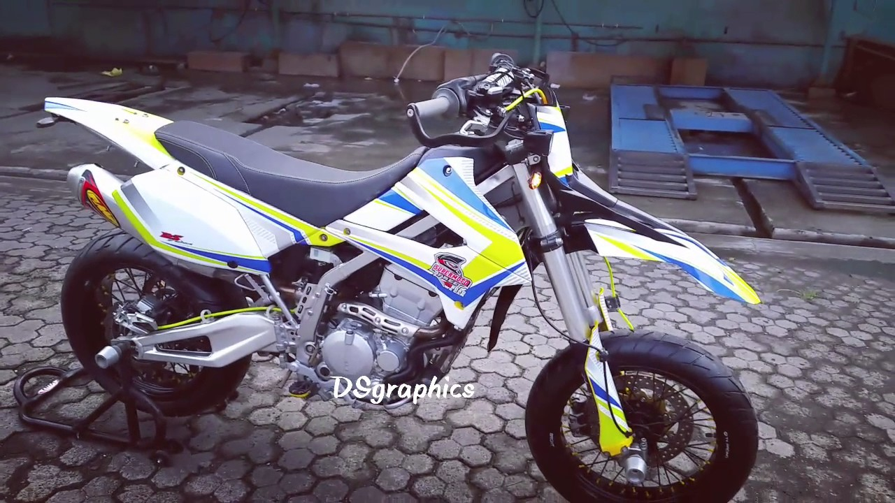Klx 250 Modifikasi SUPERMOTO