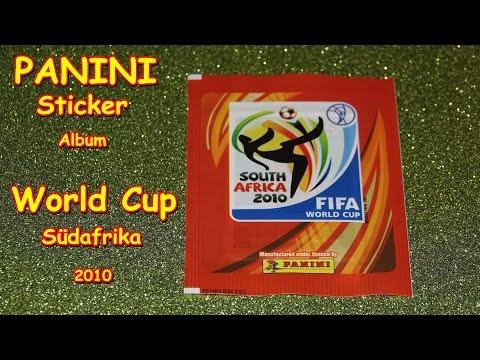 48a31ec3c PANINI FIFA WORLD CUP South Africa 2010 STICKER ALBUM SOCCER WM  Fußballweltmeisterschaft South Afric - YouTube