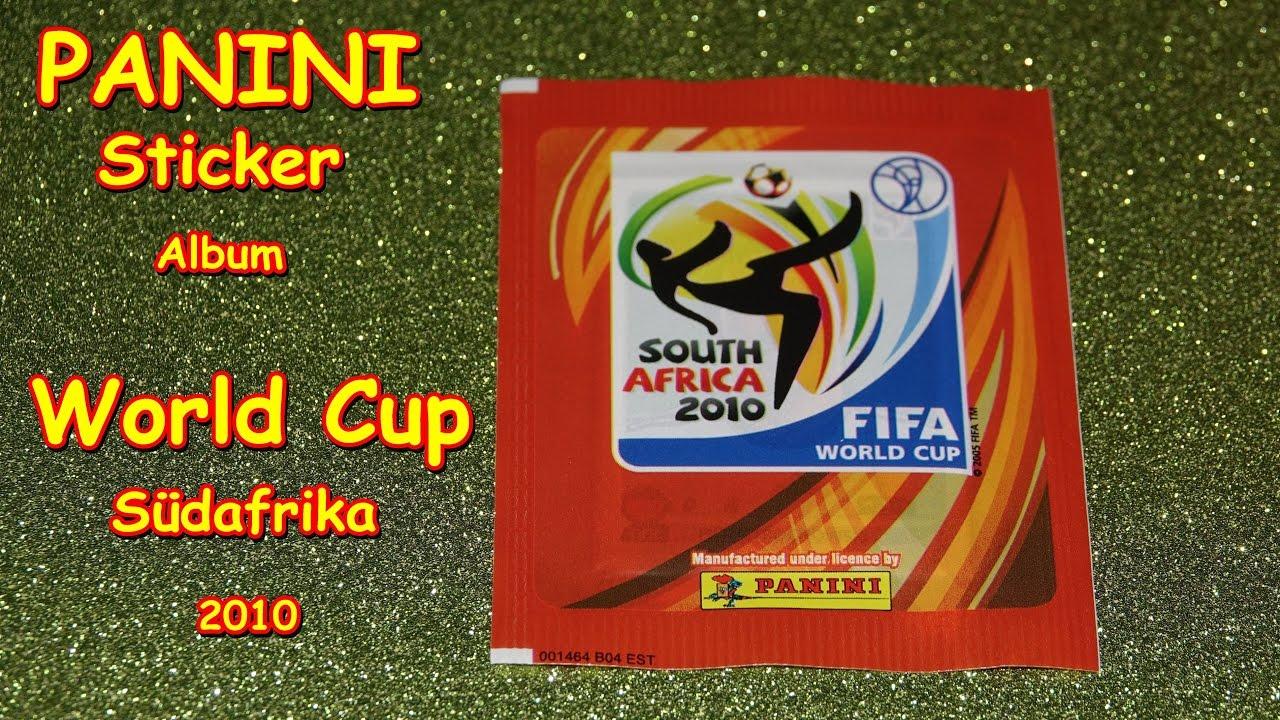 cd5ea9016 PANINI FIFA WORLD CUP South Africa 2010 STICKER ALBUM SOCCER WM  Fußballweltmeisterschaft South Afric